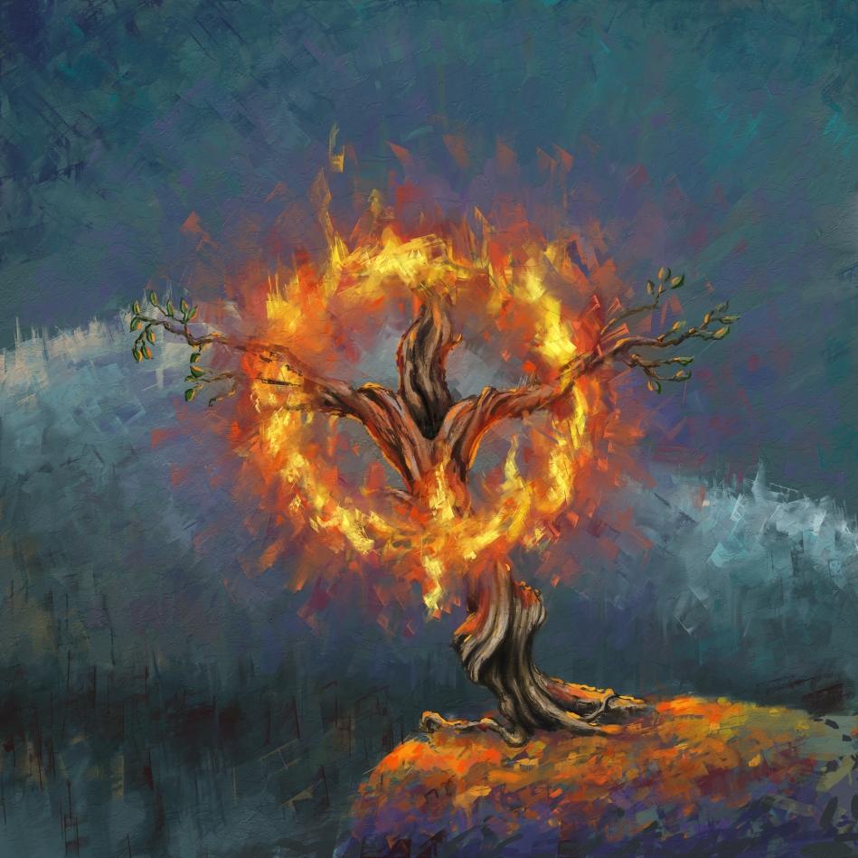 den brinnande busken